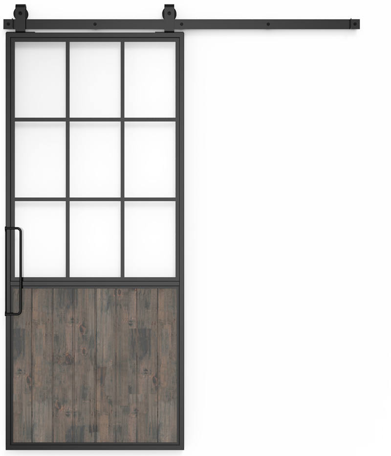 Barn door png. Half glass french mountain