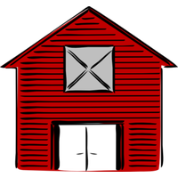 Barn png red. Download category clipart and