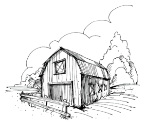 Barn png sketch. The organic question what