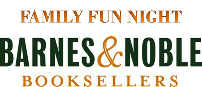 Barnes & noble logo png. Family fun night muscogee