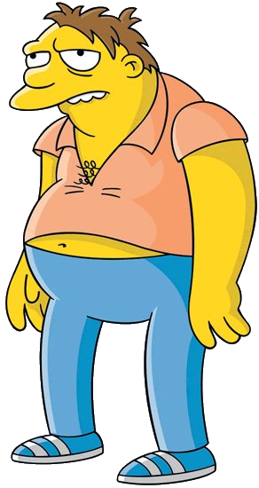Simpsons barney png