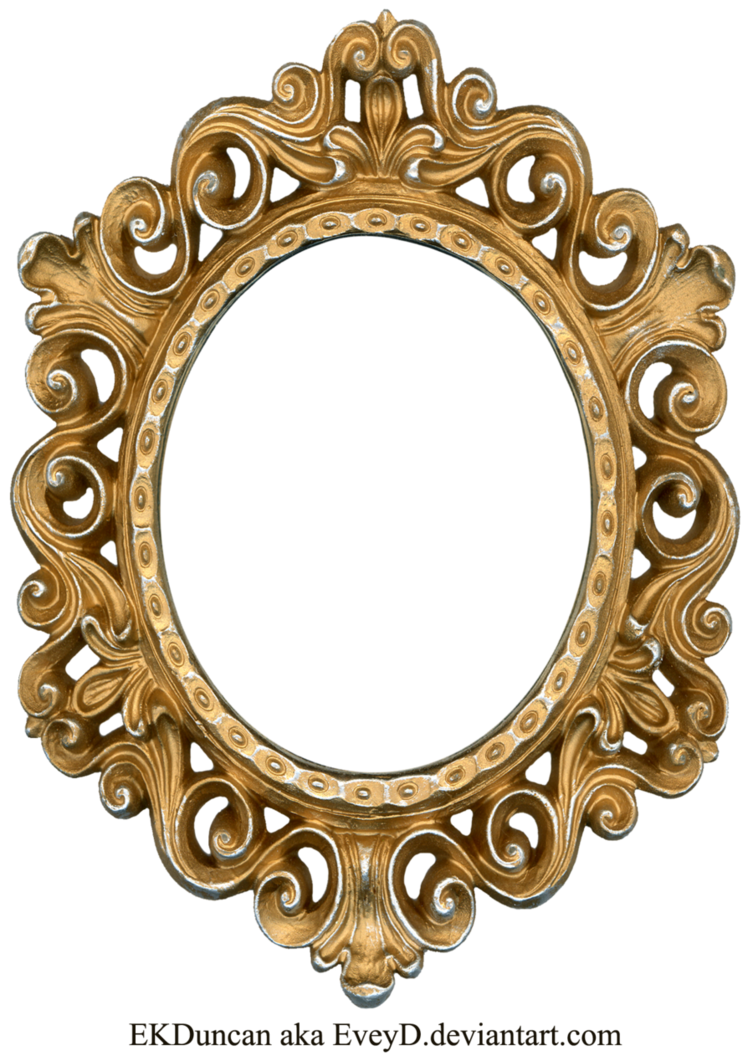 Baroque vector golden. Vintage gold and silver