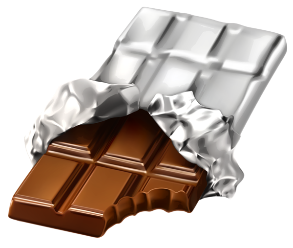 Barra de chocolate png. Clipart picture planner happiness