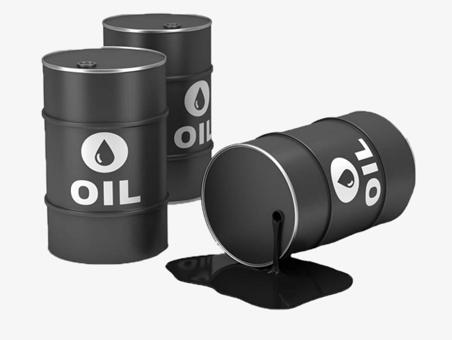 Barrel clipart oil barrel. Black crude drums knocked