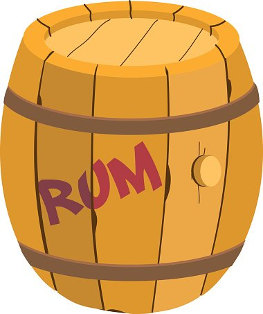 barrel clipart rum barrel