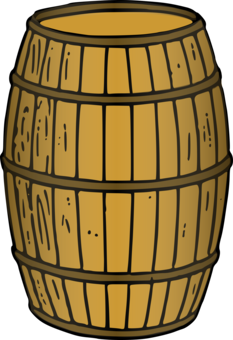 Barrel clipart oil barrel. Wine oak whiskey beer