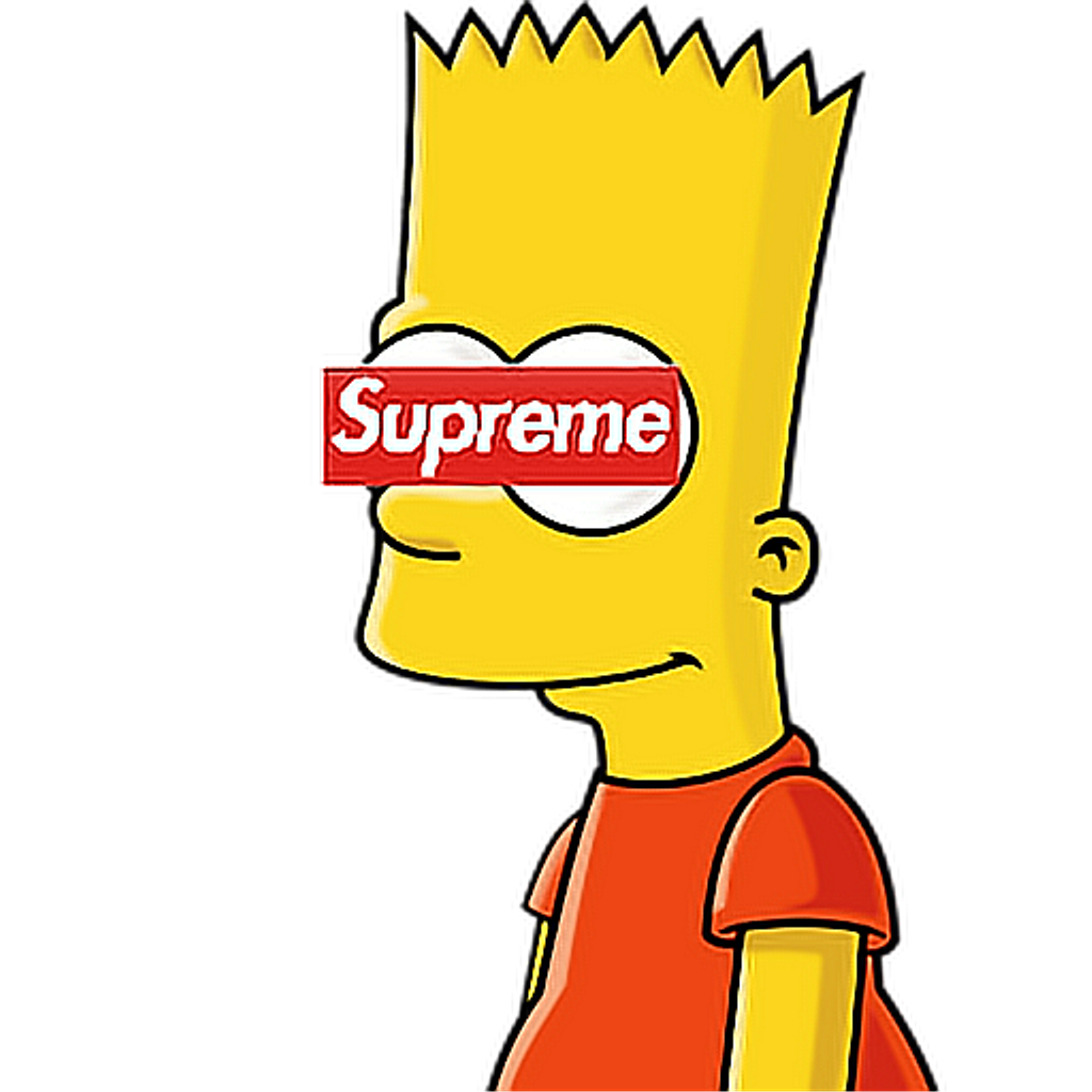 Bart drawing hood. Supreme lit esketit