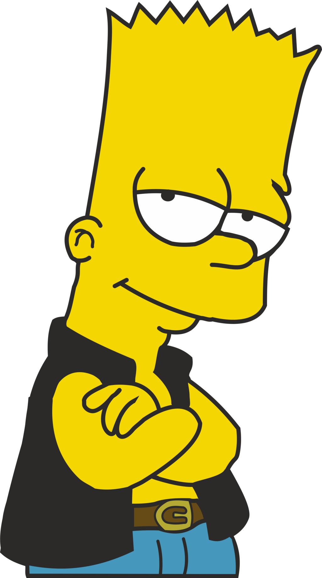Bart drawing thug. Simpson transparent png pictures