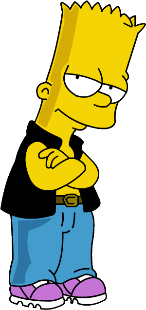 Bart simpsons png. Simpson transparent pictures free
