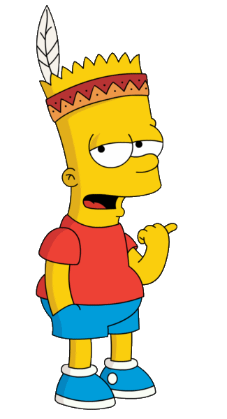 Bart simpsons png. Download for free simpson