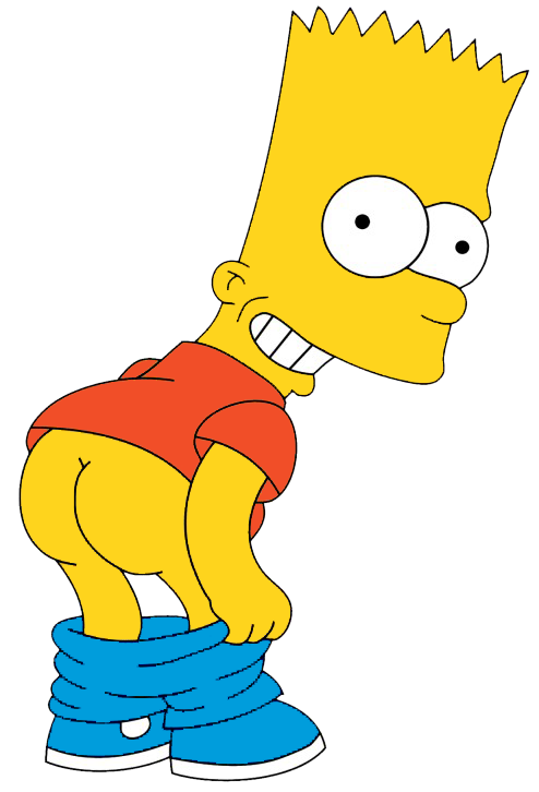 Bart simpsons png. Simpson eat my shorts
