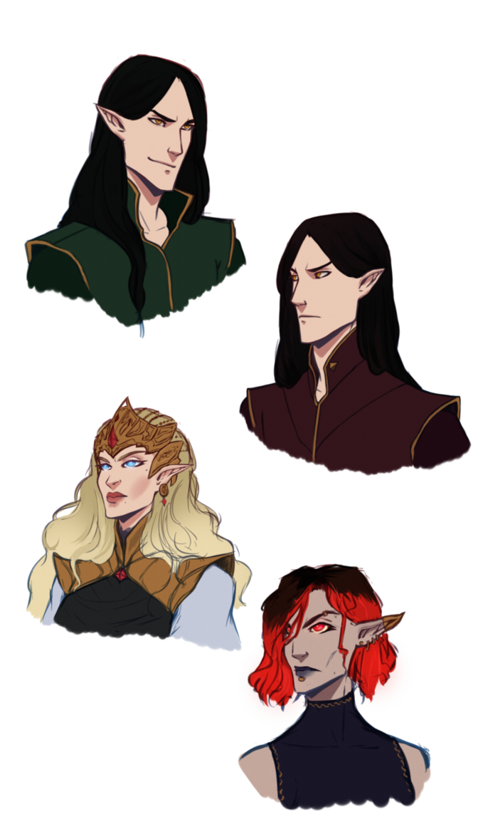 Bartender drawing elven. Dragon age pantheon by