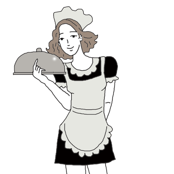 maid drawing old