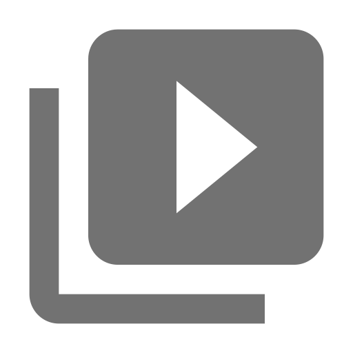 Icon myvideo in with. Base vector svg transparent stock