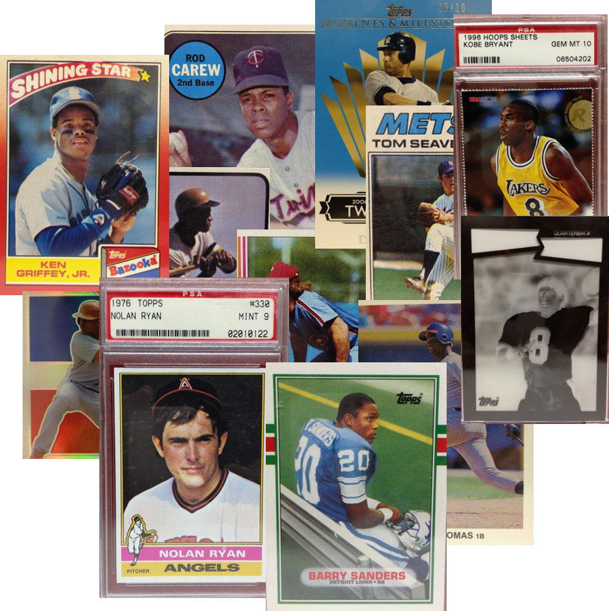 Baseball cards png. Penny auctions free shipping