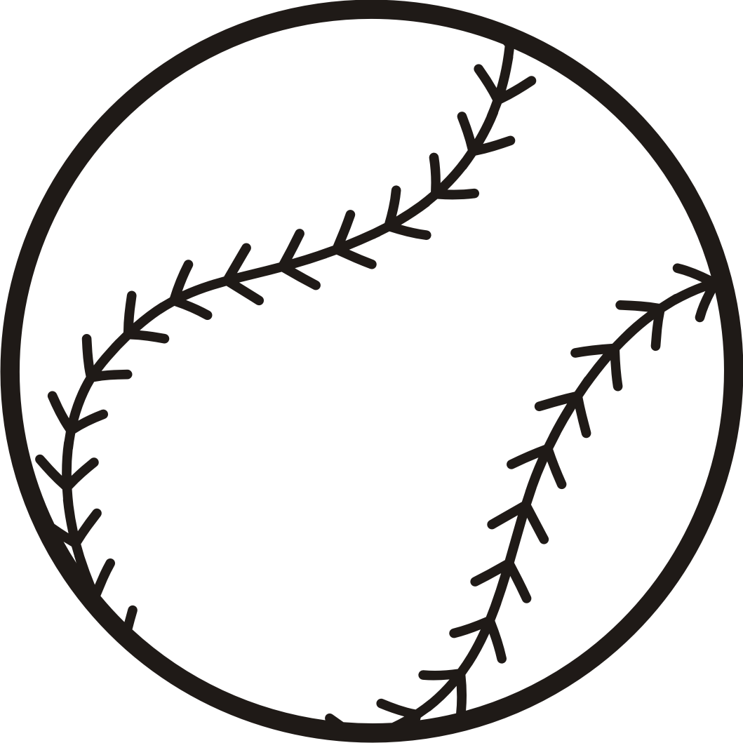 Can clipart clipart black. Baseball free graphics image