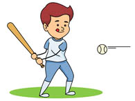 Baseball clipart baseball player. Sports free to download