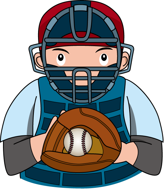 Catcher clipart baseball pitcher. Free cliparts download clip