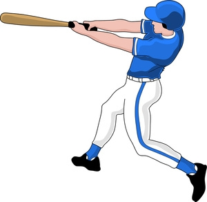 Baseball clipart baseball player. Images clipartfest clipartix