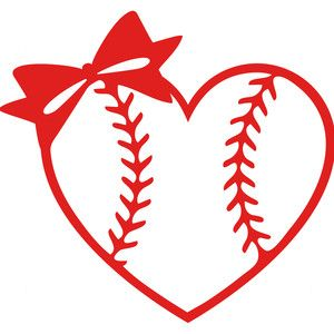 Baseball clipart bow. Stencils pinterest
