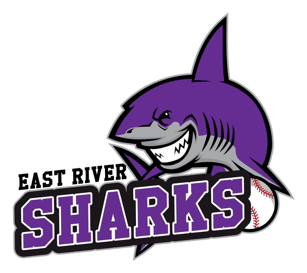 Baseball clipart shark. East river sharks new