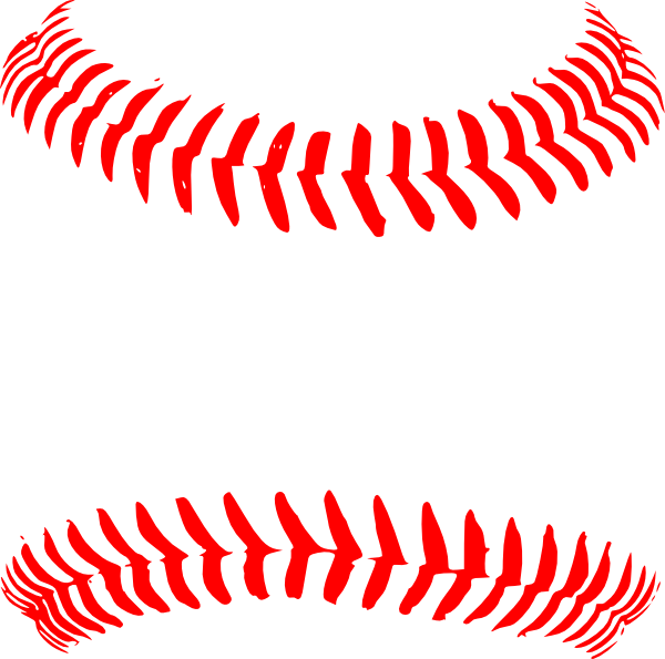 Baseball stitch png. Red seams hi pixels