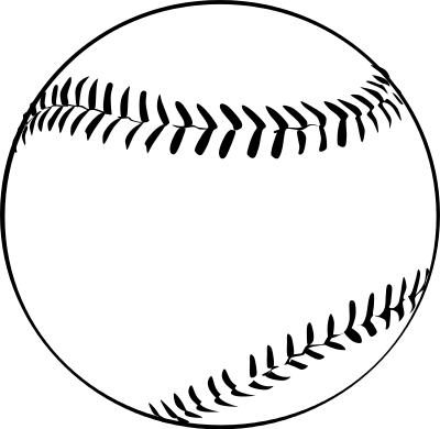 Baseball outline png. Recreation sports ball download