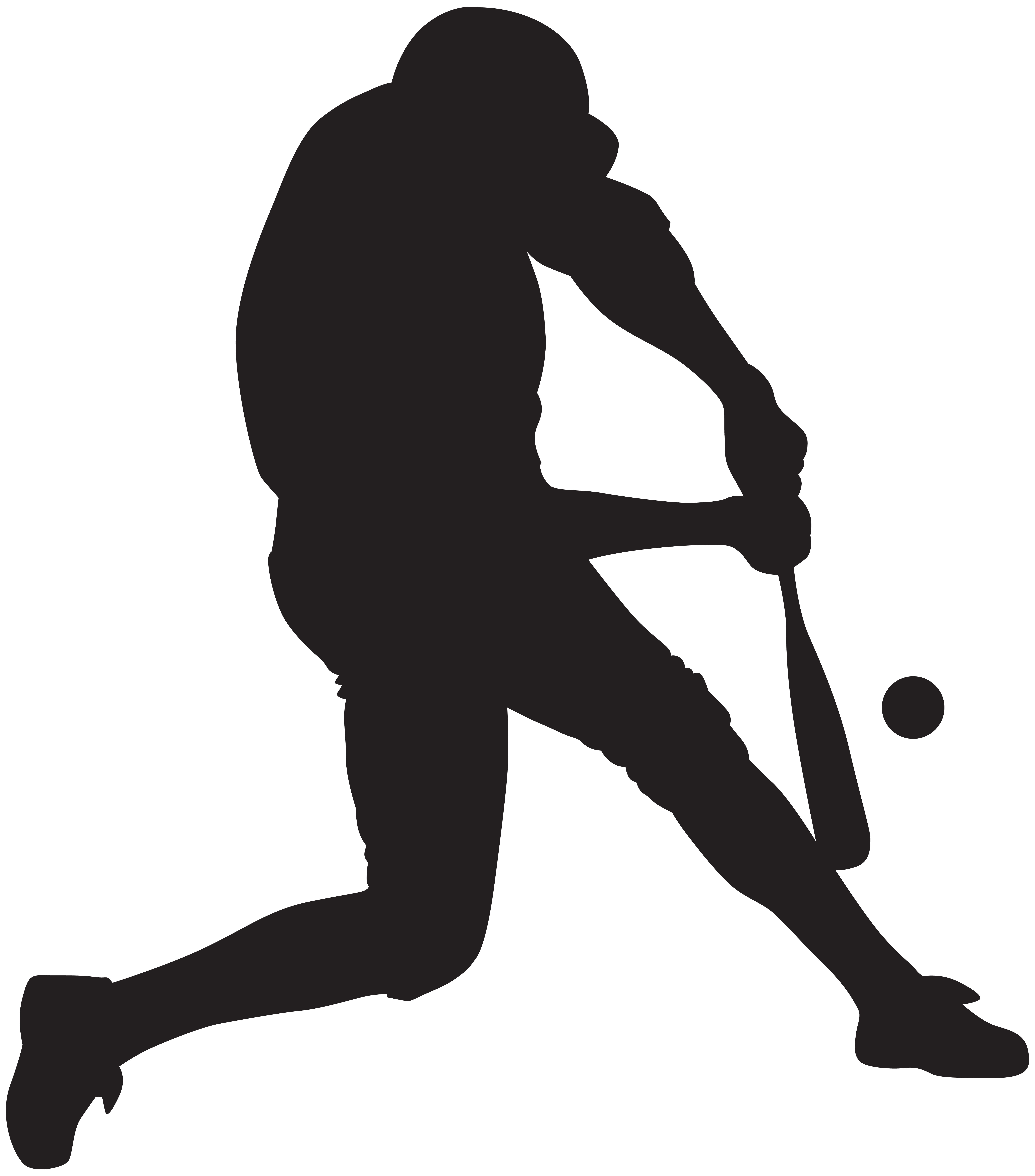 Baseball silhouette png. Player clip art image