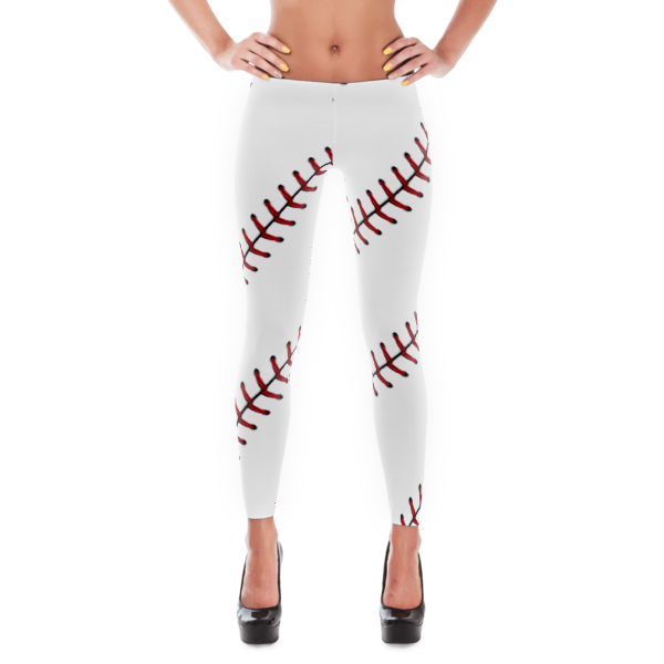Baseball stitch png. Leggings vinco