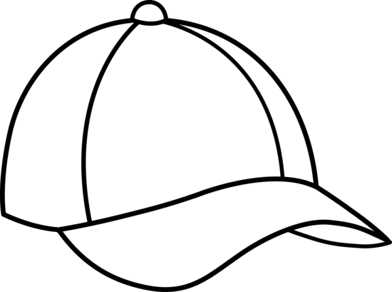 Hats drawing art. Caps images color pages