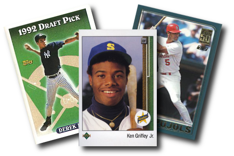 Baseball trade cards png. S and newer