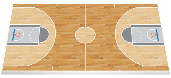 Basketball court floor png. Indiana vs golden state