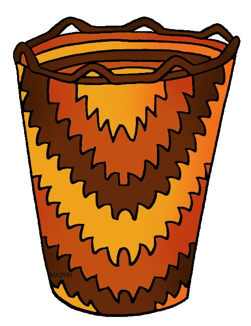 basket clipart basket indian