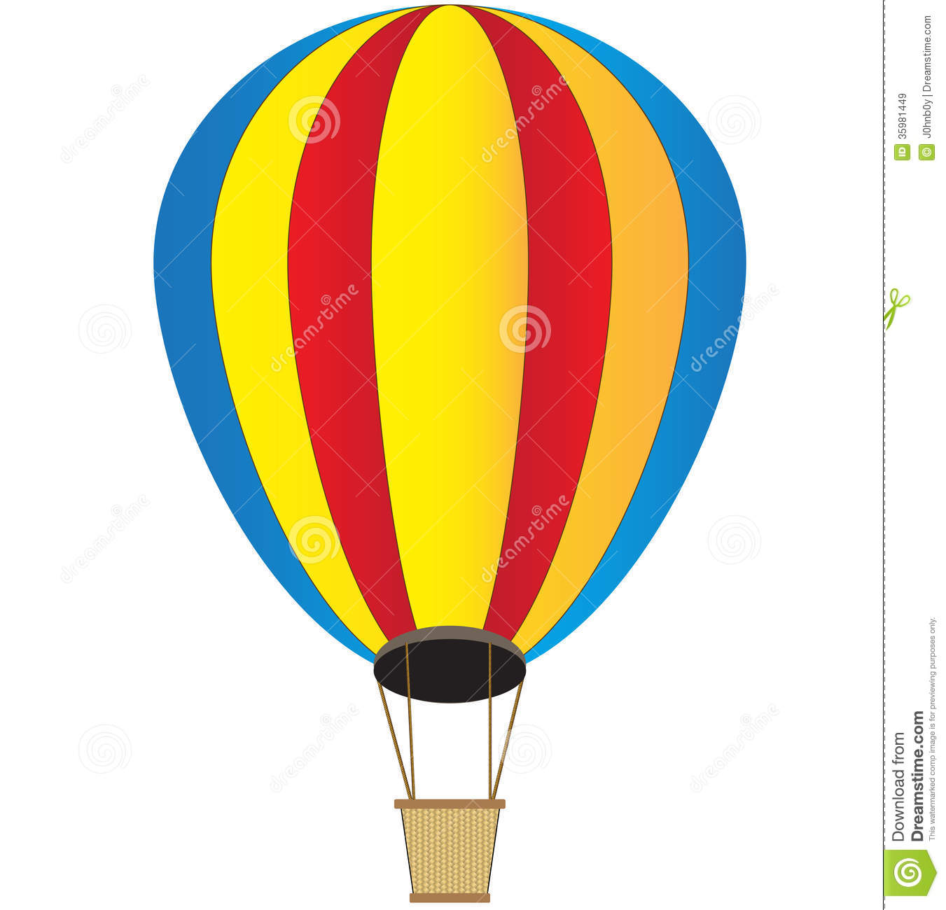 Basket clipart hot air balloon. Drawing at getdrawings com