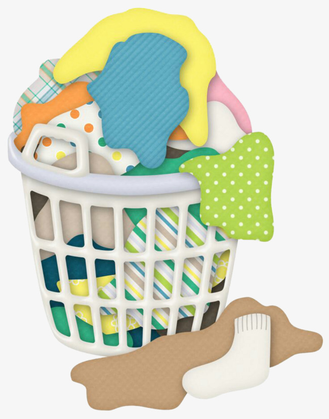 Basket clipart laundry basket. Graphic design clothing hand