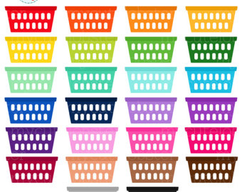 basket clipart laundry basket