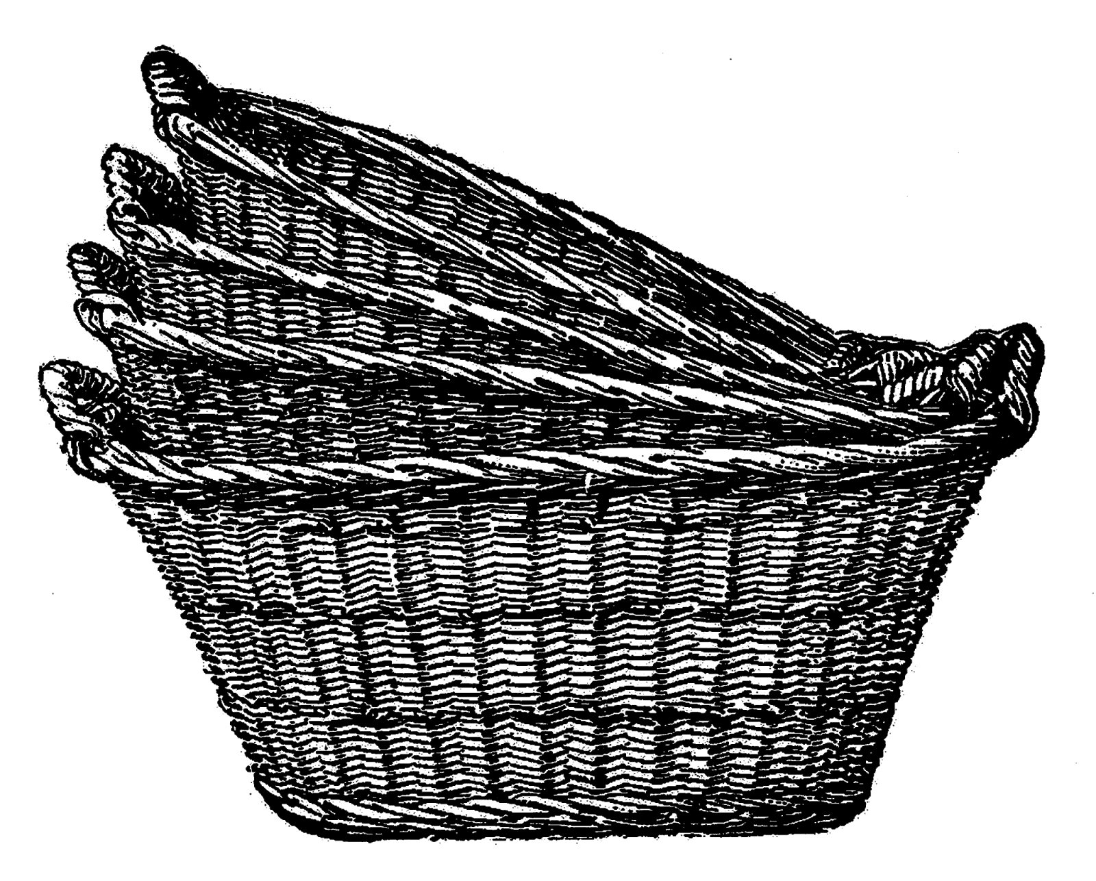 Basket clipart laundry basket. For new ideas wicker