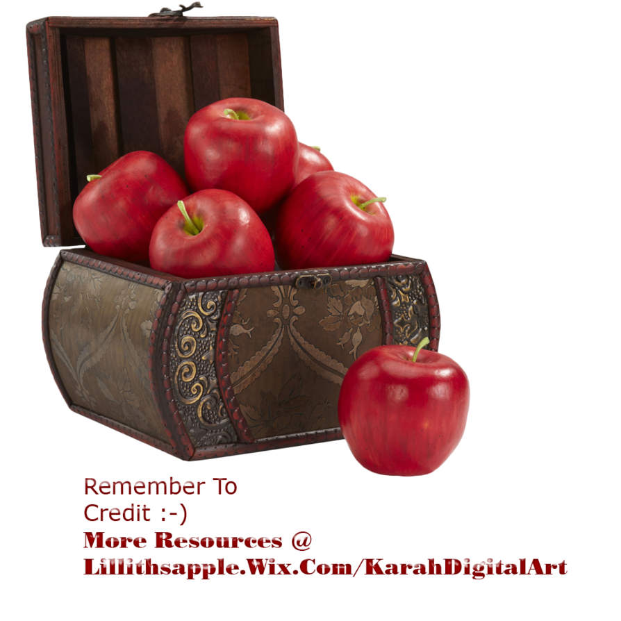 Basket of apples png. Apple stock by karahrobinson