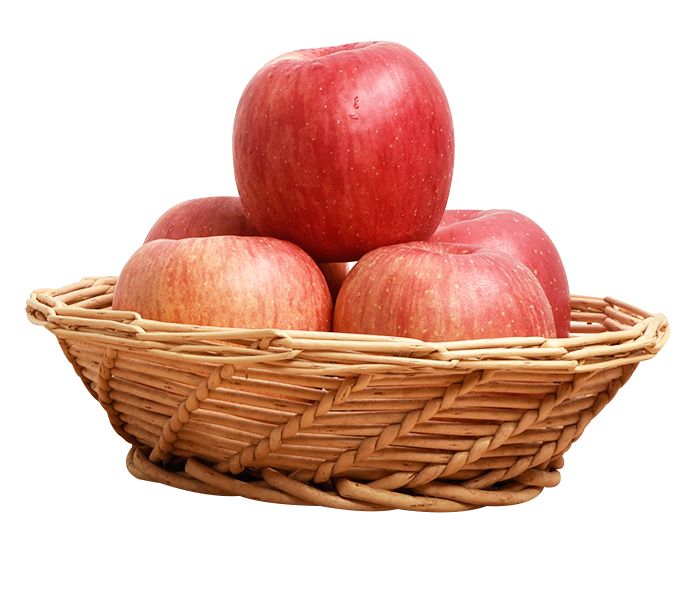 Basket of apples png. Apple luochuan county fu
