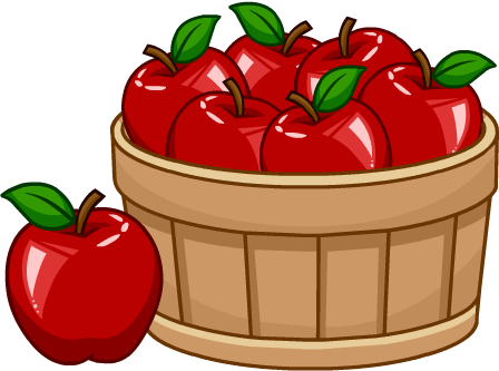 Basket of apples png. Image puffle foodcatalog puffles