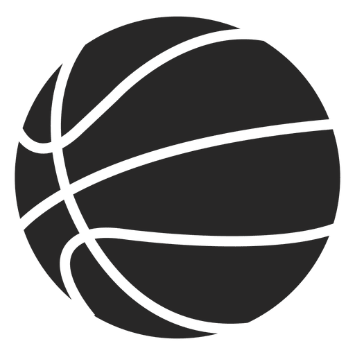 Basketball ball png. Icon silhouette transparent svg