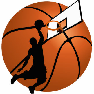Basketball clipart. Player silhouette at getdrawings