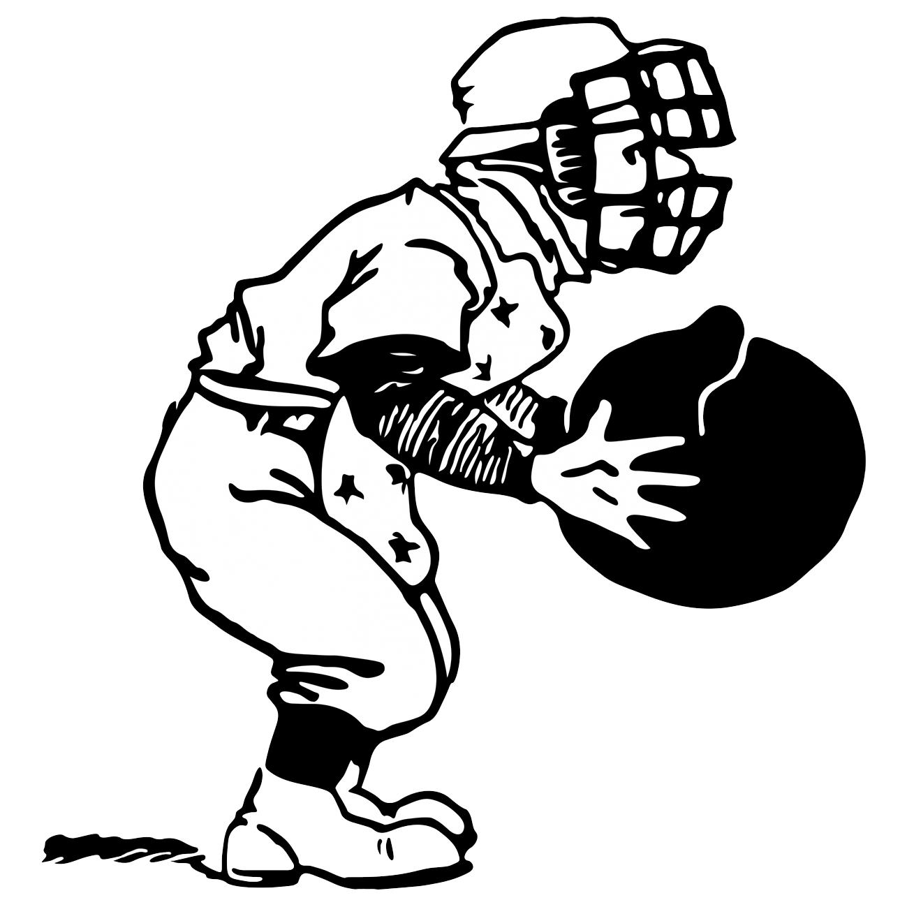 Catcher clipart baseball pitcher. Player