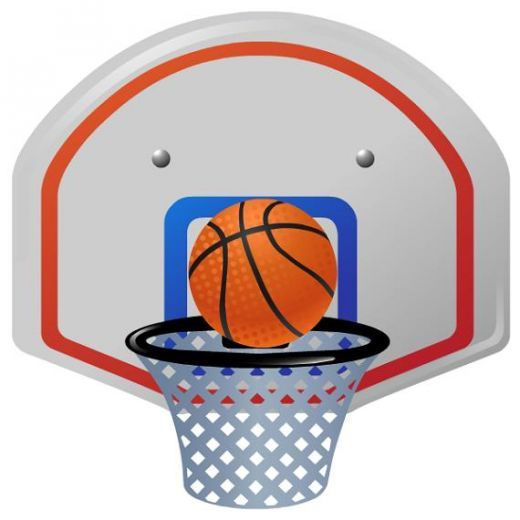 Basketball clipart basketball hoop. Team at getdrawings com