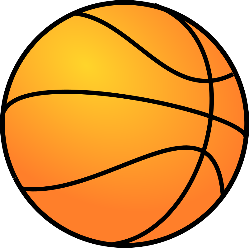 Ball clip transparent background. Basketball with fast lunchrock