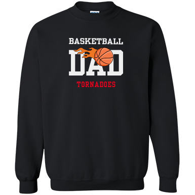 Basketball dad png. Sweat shirt