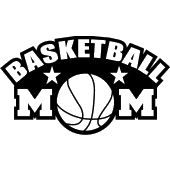 Basketball mom png. Stonewall decals