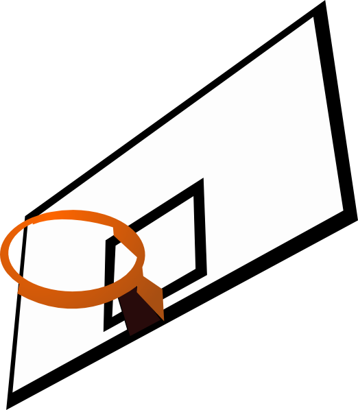 Basketball net vector png. Rim clip art at