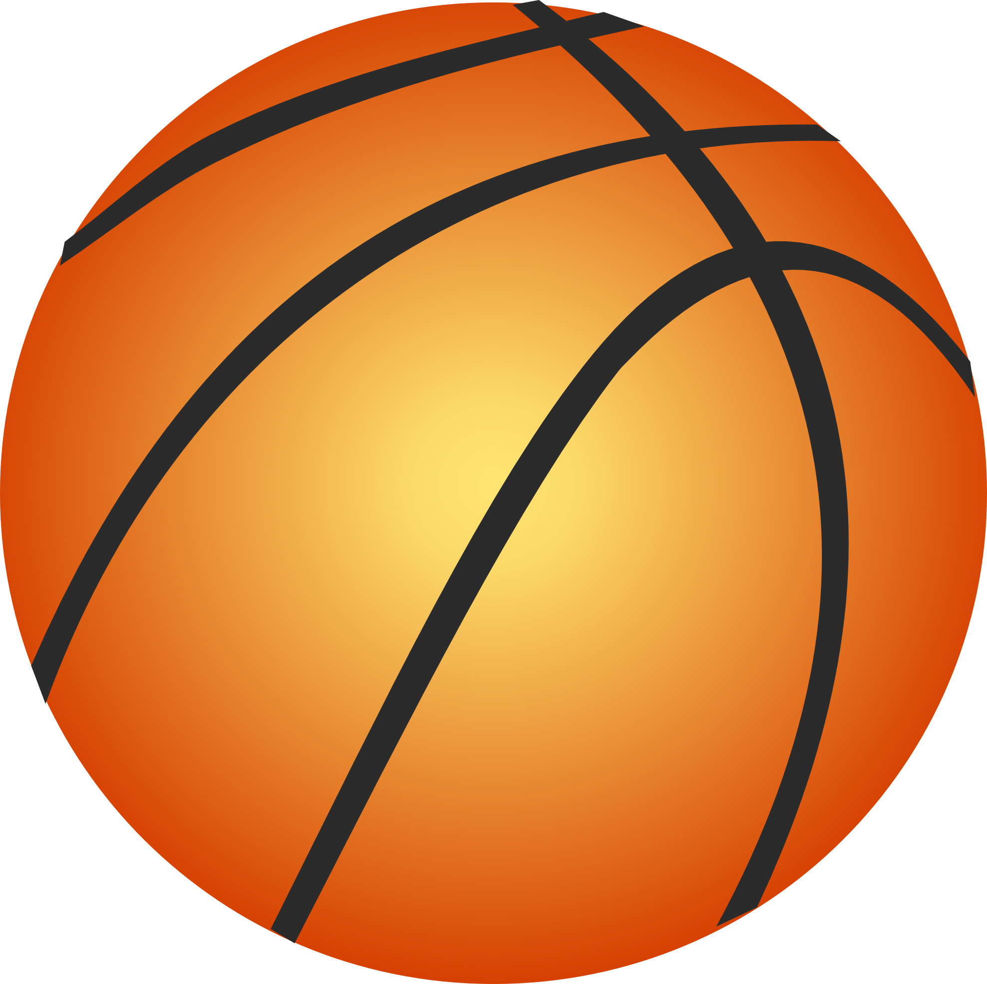 Basketball png clipart. Three isolated stock photo
