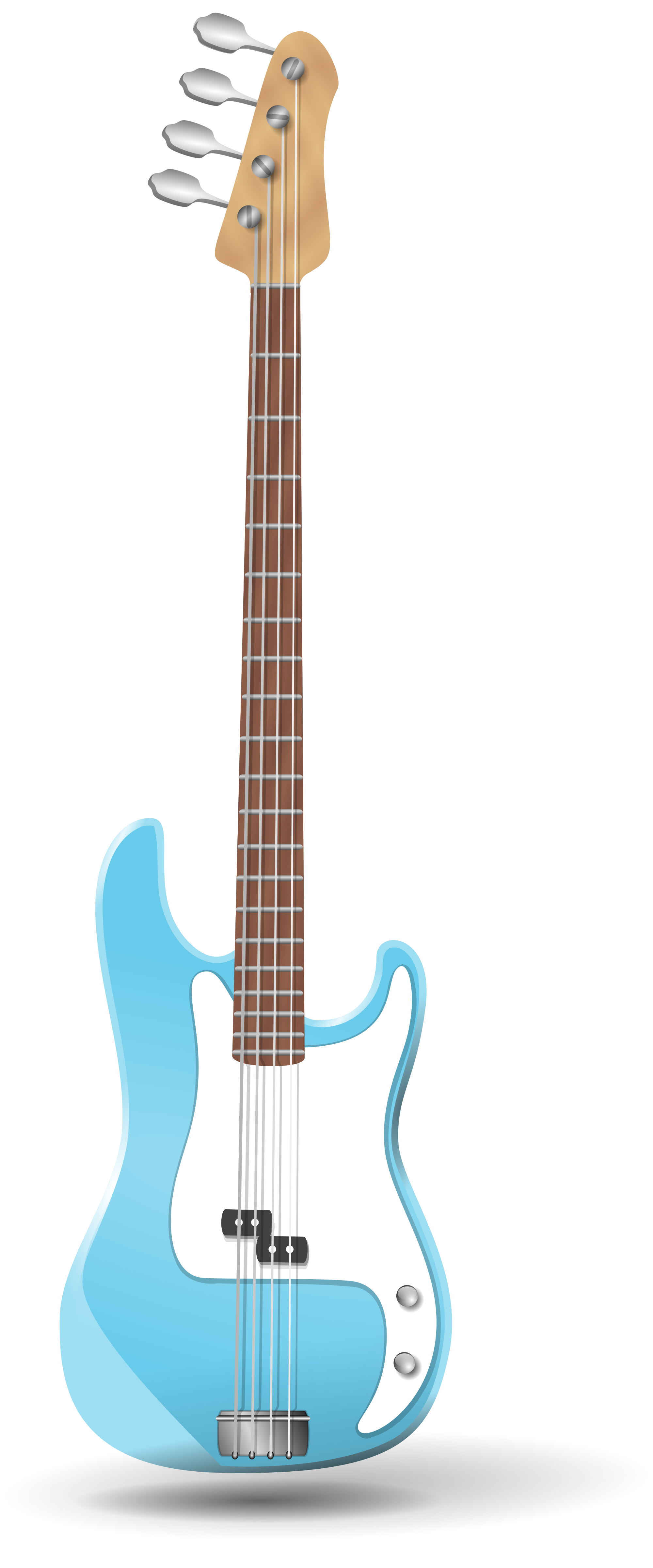 Bass clipart svg. File guitar wikimedia commons